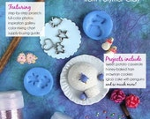 Miniature Tutorials - The Holiday Collection - Miniature Food Tutorials, Polymer Clay Tutorials - FIVE Digital Books