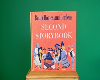 Vintage 1950s Better Homes and Gardens Second Storybook
