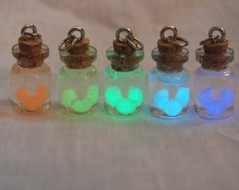 Legend of Zelda Glow In The Dark Fairy Necklace, Choice of Color