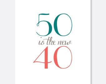 50 units of Botox Birthday Card, Adult Birthday Card, Silly Birthday Card, Fun Birthday Card, Script Birthday Card, simple Birthday Card