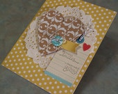 Handmade Card - Stampin Up Everyday Occasions & Petite Pairs