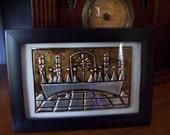 Framed Last Supper,Miniature Version,La Roca