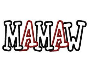 Mamaw embroidery | Etsy