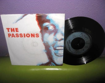 """HOLIDAY SALE Vinyl Record The Passions - Hunted b/w Oh No, It's You 7"""" 45 RPM 1979 Single Post Punk Import"""