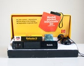 Instamatic 20 Camera Outfit, In Original Box, Camera With Flash, Gift For Camera Collector Under 20