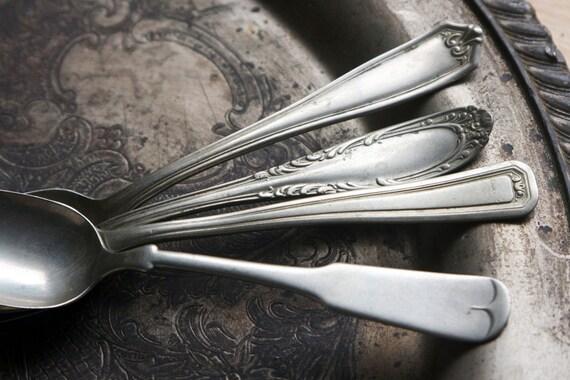 Silverware, Nickel Silver, Brazil Silver Spoons