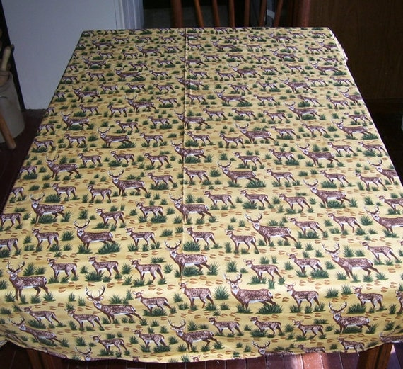 Lodge Tablecloth Bing Images