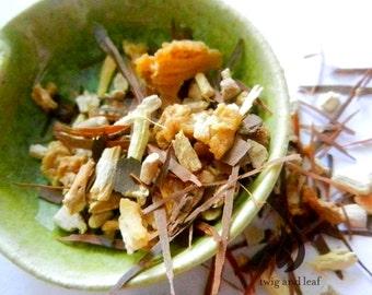 restore herbal tea with all organic ingredients