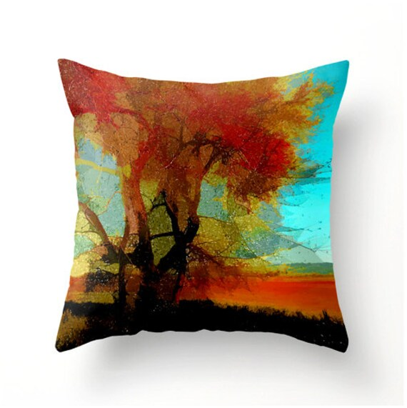 Items similar to Weeping Willow decorative throw pillow