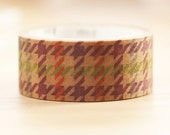 2014 - mt fab Japanese Wax Paper Masking Tape - Houndstooth Pattern