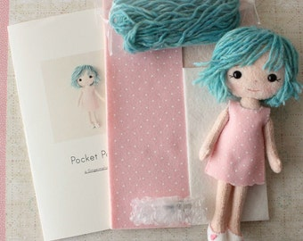 Pocket Poppet Pattern Kit - Rowen