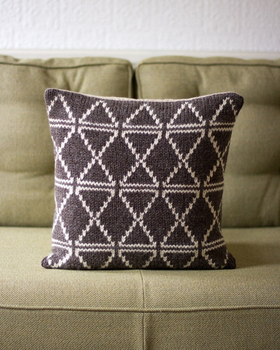 Modern Knitted Pillow : Unavailable Listing on Etsy