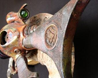 Herbert Sardaukar Special - Raku Ray Gun Ceramic Sculpture
