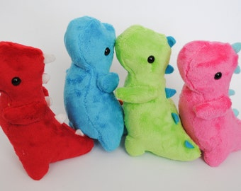 Dinosaur Plushie CHOOSE YOUR COLORS