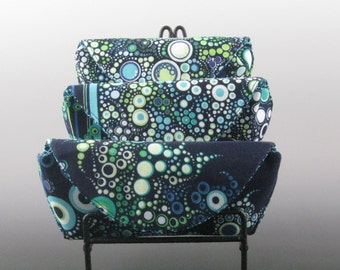 eyeglass case in Ocean - Amelia Caruso Effervescence- Made to order