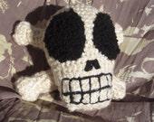 skull n crossbones stuffed toy