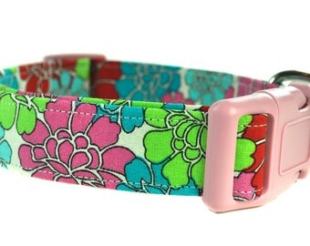Floral Dog Collar - The Floral