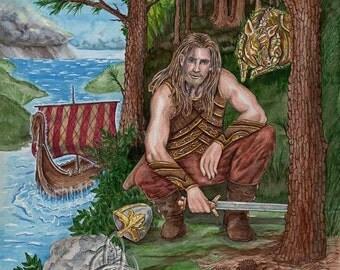 Frey, Freyr Limited Edition Print