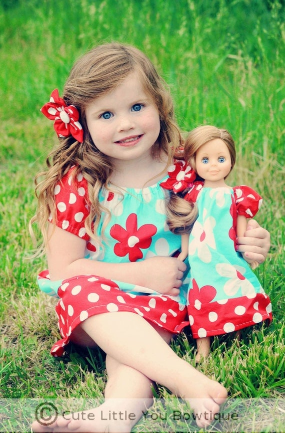 Girls Peasant Dress Pattern, Girls Sewing Pattern, Long Sleeve Dress Pattern, Peasant Dress SEWING PATTERN,