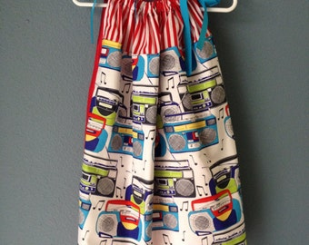 Boombox Bandana Pillowcase Dress