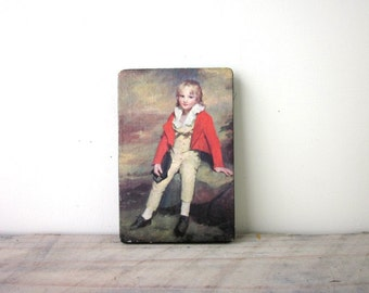 Portrait of a Young Boy Picture Wall Hanging Sir Henry Raeburn