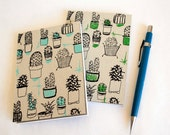 House Plant Hand Printed Notepad