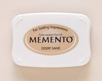 CLEARANCE Desert Sand Memento Dye Ink Pad