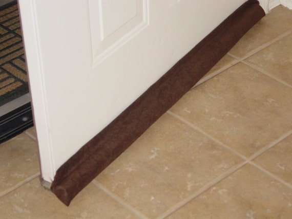 Items similar to no filler needed the draft away brown for Door draft stopper