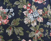 Classic Cotton Moda Garden Dance Floral Sewing Quilting Fabric 1 yard