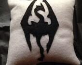 Skyrim Dragon Born Throw Pillow Plushie.