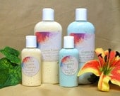 FREE SHIPPING Goats Milk and Honey Lotion  with added Shea Butter 8 oz plus 2 oz travel size