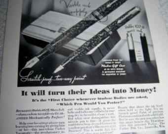 America's No 1 Graduation Gift Parker pen ad  vacumatic