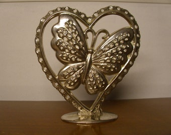 Vintage 1960's Butterfly Earring Holder