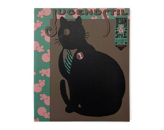 """Seymour Chwast """"Design & Style"""" Issue 1 (Jugendstil). From Seymour Chwast's personal archive."""