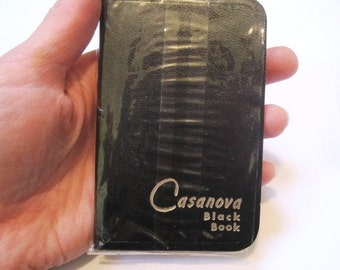 Vintage Casanova Little Black Book