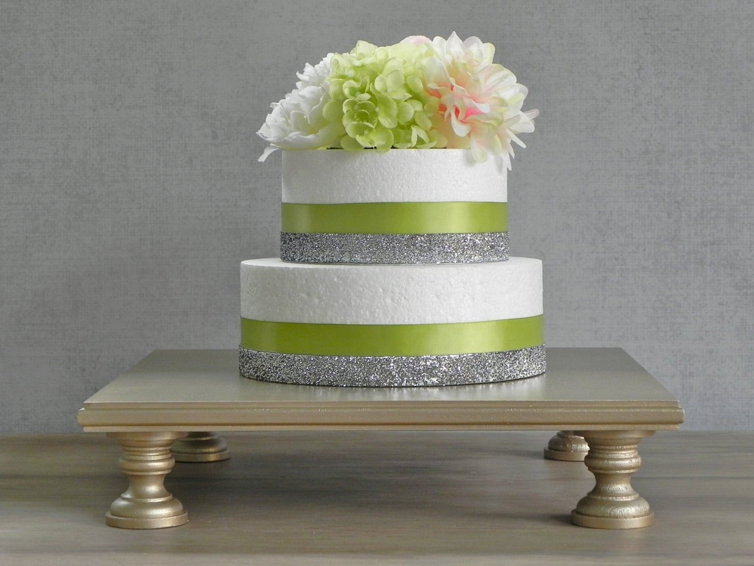 16 Wedding Cake Stand Champagne Square Cupcake by
