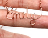 Name Necklace * Custom Necklace * Custom Jewelry * Personalized * Name Jewelry * Wire Name Necklace * Wire Word Art * Personalized Necklace