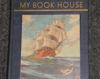 Flying Sails of My Book House-Edited By Olive Beaupre Miller-1937