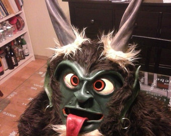 Krampus Perchten Kukeri Wilder Man Baphomet Mask