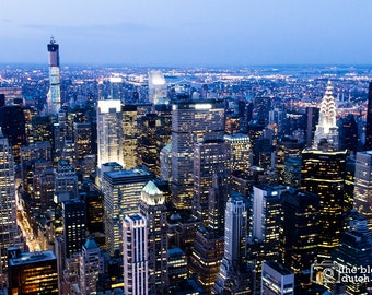 """View of Manhattan from the 86th Floor of the Empire State Building (16"""" x 24"""" photograph)"""