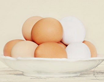 brown eggs for Easter-Easter photography-Easter photo-holiday photo-eggs in a dish(5 x 7 Original fine art photography prints) FREE Shipping