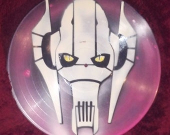 General Grievious Vinyl Record Painting