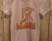 Deer vs Hunter: Women's T-shirt (Cinder)