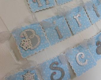 Winter Onederland 1st Birthday Party Package snow princess banner baby shower frozen