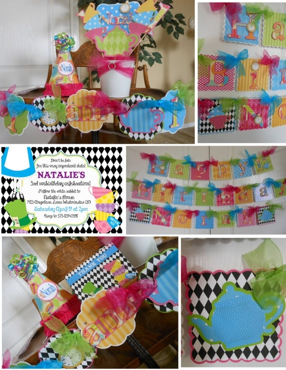 Alice in wonderland 1st birthday sweet celebration party for 1st birthday decoration packages