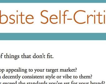 Shop Self-Critique for Artists. shop critique, etsy shop critique