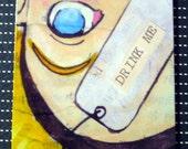 Drink Me--Alice Bookmark