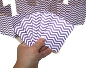 Chevron Note Pads in Purple - Party Favors - Teachers Gifts - Set of 20