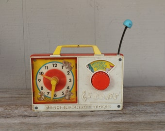 Vintage Fisher Price Clock