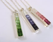 LAST 3! Swarovski pendant necklace on choice of silver chain